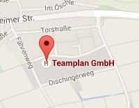 TEAMPLAN GmbH Google Maps